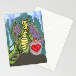 Lovelorn Dragon Stationery Cards