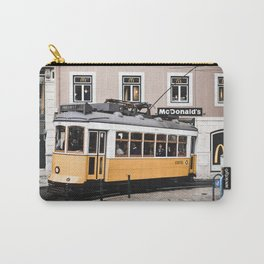 Yellow Tram 2.0 Carry-All Pouch