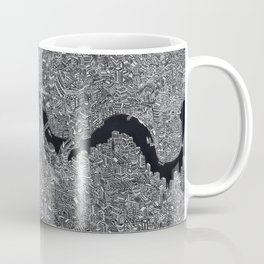 London map black and white Coffee Mug