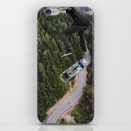 Jump higher iPhone Skin