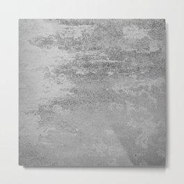 Simply Concrete Metal Print
