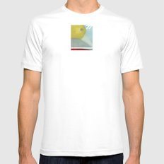 Distance 77 Mens Fitted Tee White MEDIUM