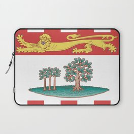 flag of prince edward island 2 -pei,islander,Charlottetown Laptop Sleeve