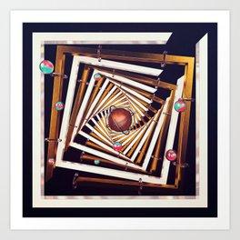 Do the Kuiper Twist !! (12/12/16) Art Print