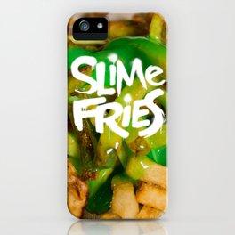 Slime Fries v2 iPhone Case