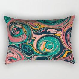Liquid colors No1 Rectangular Pillow