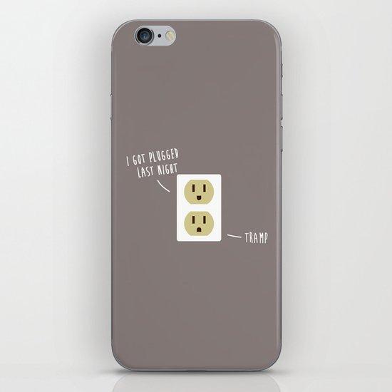 Plugged iPhone & iPod Skin