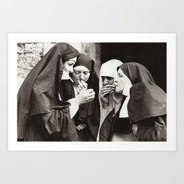The Great Nuns Art Print