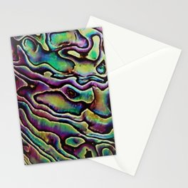 Carousel abalone Stationery Cards