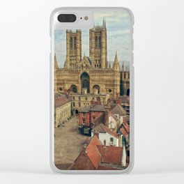 Lincoln Cathedral Clear iPhone Case