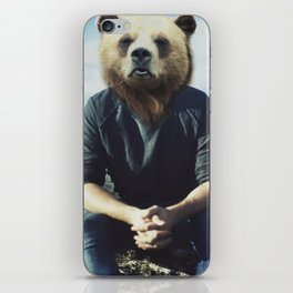 Bear Brains iPhone Skin