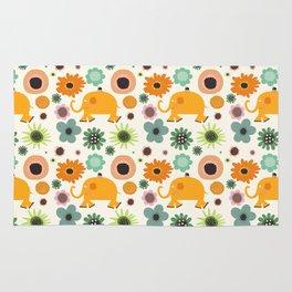 Best friends - Fabric pattern Rug