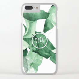 Co.Co. Pilates Clear iPhone Case
