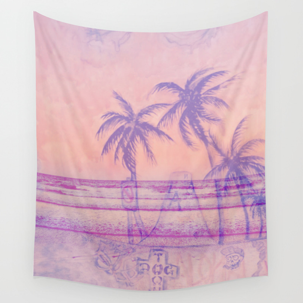Surf God Wall Tapestry by Hellehowl TPS6565034