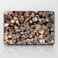 pocket fuel iPad Cases featuring WOODEN FUEL by Connor Merrick