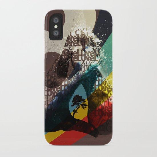 Love ve love love... iPhone Case