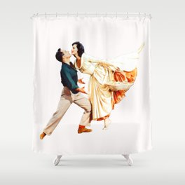 Gene Kelly and Cyd Charisse - Brigadoon Shower Curtain