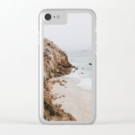 malibu coast / california Clear iPhone Case