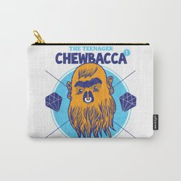 Hipster Chewie Carry-All Pouch