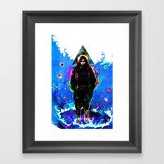 libra... Framed Art Print
