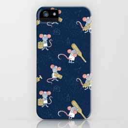 Mouse Nurse Here to Help You iPhone Case