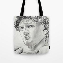 The David Drawing Tote Bag