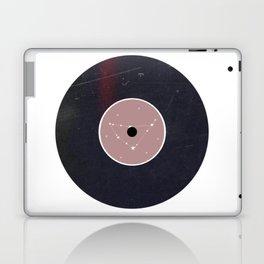 Vinyl Record Star Sign Art | Capricorn Laptop & iPad Skin
