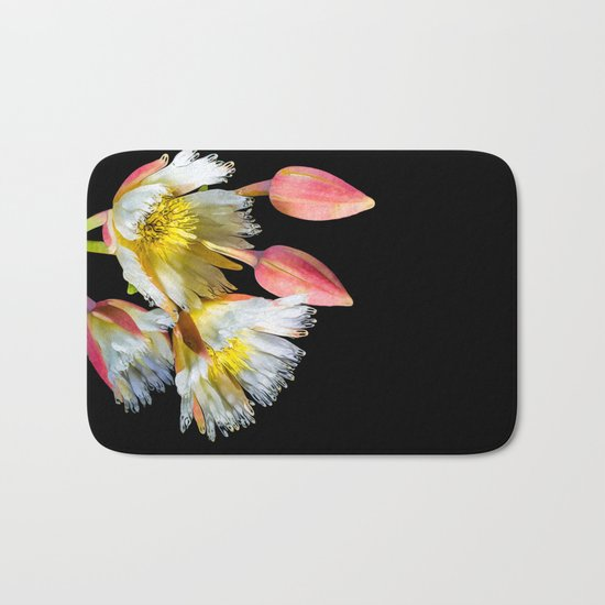 Bold and Wild Flowers Bath Mat