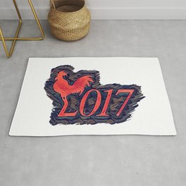 Rooster 2017 Rug