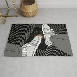 FALLING INTO THE SPACE Rug