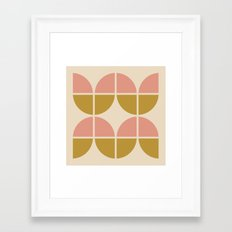 Scandianvian pattern Framed Art Print