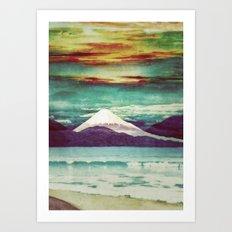 Living Rapture in Yeno Art Print
