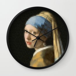The Girl with Pearl Earrings Wall Clock