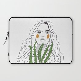 Green Time in the Meantime - 2 Laptop Sleeve