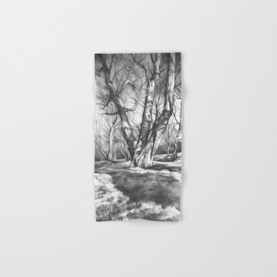 Musing of Trees Hand & Bath Towel