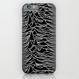 Joy Division - Unknown Pleasures iPhone Case