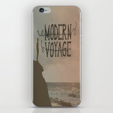 Modern Voyage iPhone & iPod Skin