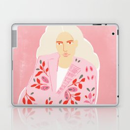 Pink Lady Laptop & iPad Skin