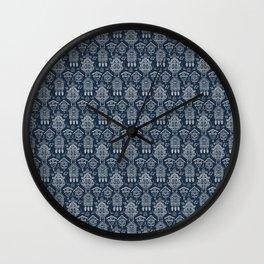 Cuckoo Clocks on Blue Wall Clock