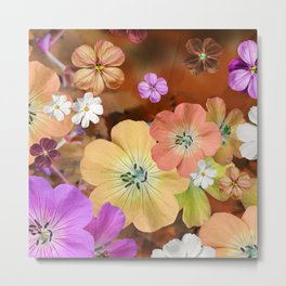 The fairy will come out soon #flower #combination Metal Print