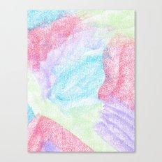 Chalking Around Canvas Print
