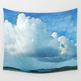 Caribbean Cumulonimbus Clouds Wall Tapestry