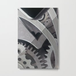 Connect Metal Print