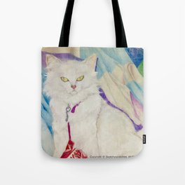 The Angry Cat & Its Toy Tote Bag
