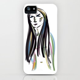 Reflection and introspection iPhone Case