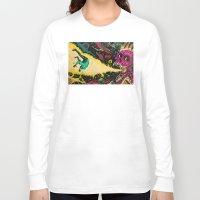 interstellar Long Sleeve T-shirts featuring Interstellar Overdrive  by alexis ziritt
