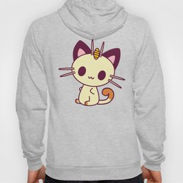 Kawaii Chibi Cat Meowth Hoody