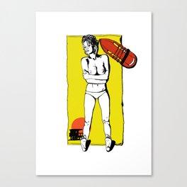Pamela- Great expectations Canvas Print