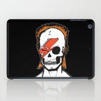 aladdin iPad Cases featuring Aladdin Sane by zombieCraig by zombieCraig