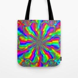 Rainbow on Acid Tote Bag